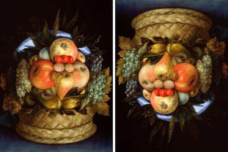 Cibo_nei_quadri_d_arte_Giuseppe-Arcimboldo---Natura-morta-reversibile-o-L'Ortolano