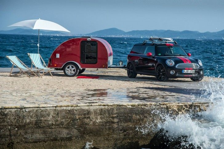 MINI Unveils Three of the World's Tiniest Luxury Campers - love!!!