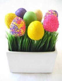 Easter Egg Cake Pops. So cute:-)