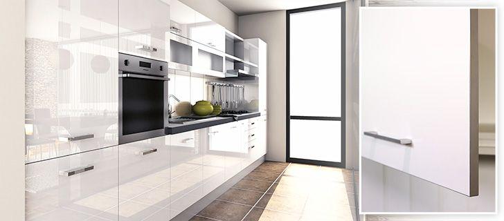 White gloss kitchen doors homedesign finsahome kitchen for White gloss kitchen units cheap