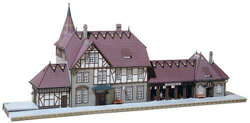 "FALLER 110116 Bahnhof /""Schwarzburg/"""