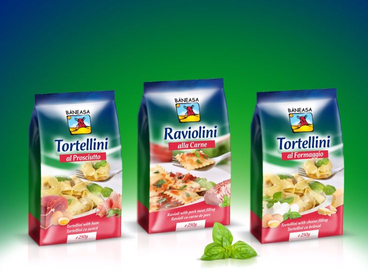 Dry Pasta Packaging designed by Gilbert Vasile