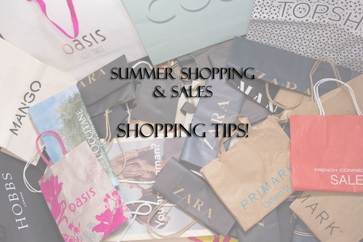 Summer shopping και Tips για έξυπνες αγορές!