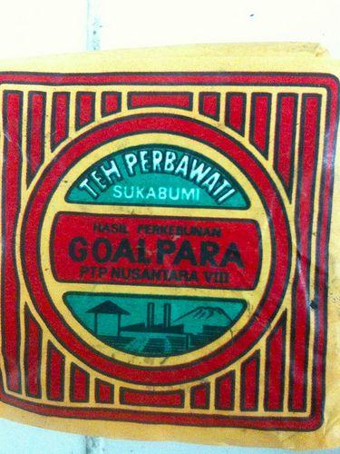 Goalpara – Side. Perbawati and Sukabumi refers to the locale, Goalpara refers to the plantation.