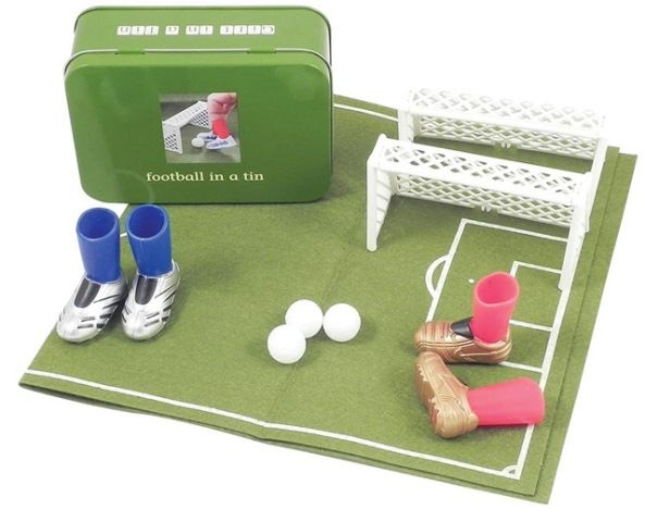 Apples to Pears Football in a Tin is a great football-mad father-and-son game for a rainy day! http://www.entropy.com.au/apples-to-pears-football-in-a-tin #giftsfordad #fathersdaygifts #soccer