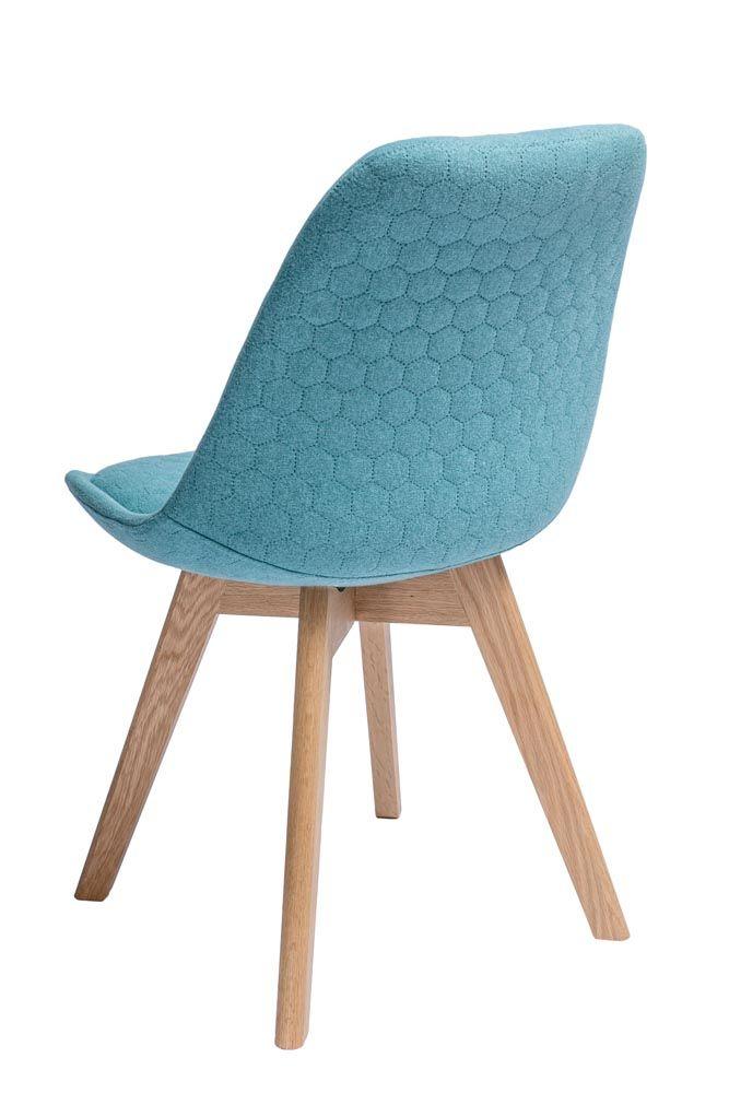 Scandinavian chair in hexagon