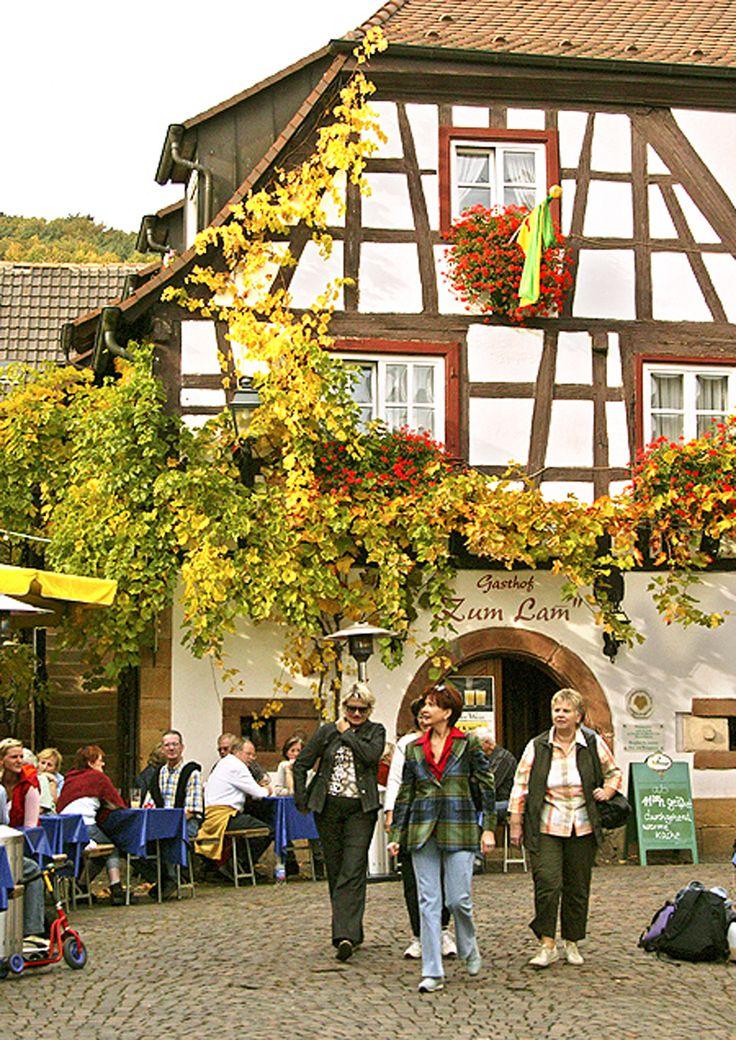 Cute Landgasthof zum Lam Gleizellen in der Winzergasse ganz oben Beliebt bekannt mit wohlf hl Ambiente und im Sommer mit einem sehenswerten Bier Wein Garten