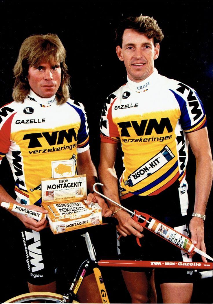 Gert-Jan Theunisse en Steven Rooks - Bison Montagekit.