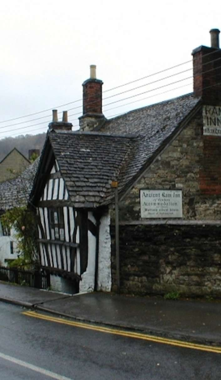 This 1000-year-old Ancient Ram Inn is haunted by talking cats, witches, and evil gateways. Follow the ley line from the stone Stonehenge and it'll lead you straight to the Inn.