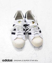 adidas [アディダス] SUPER STAR 80s オリジナルス スーパースター