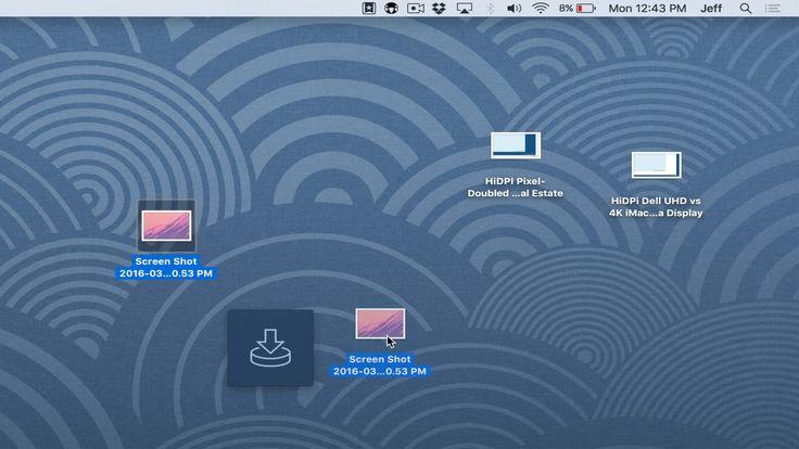 Yoink es una app bastante útil, ya que permite a los usuarios poder mover grandes cantidades de archivos entre las demás aplicaciones de OS X.