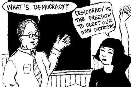 A Chinese definition of democrasy