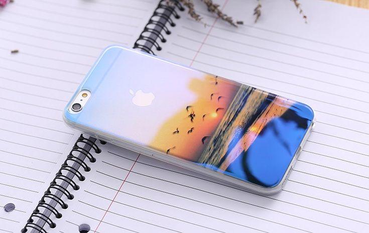 Thin Colorful Soft Case For iPhone - envíos gratis en todo el mundo