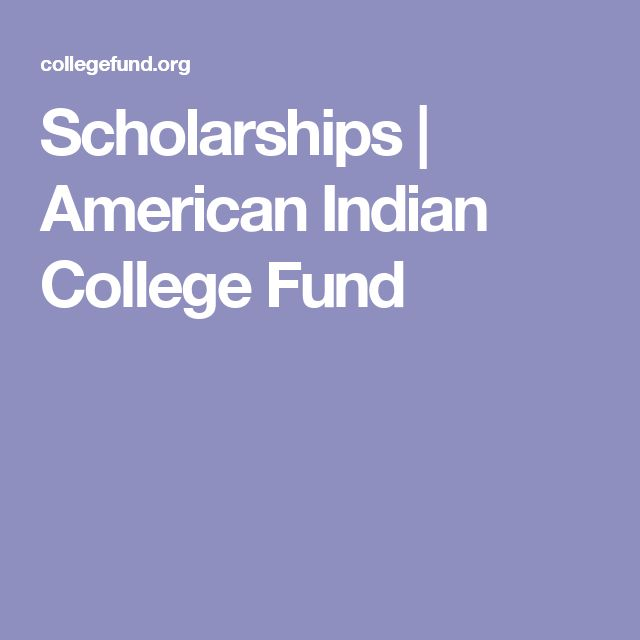 Scholarships | American Indian College Fund