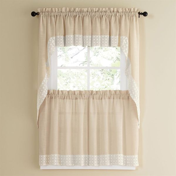 1000+ Ideas About White Lace Curtains On Pinterest