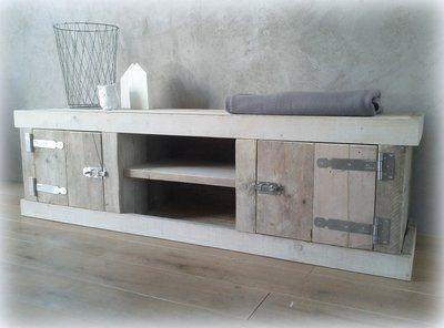 Tv-meubel steigerhout