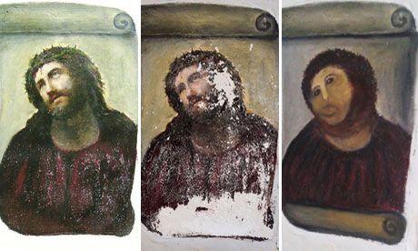 Ecce homo...esto es arte!!