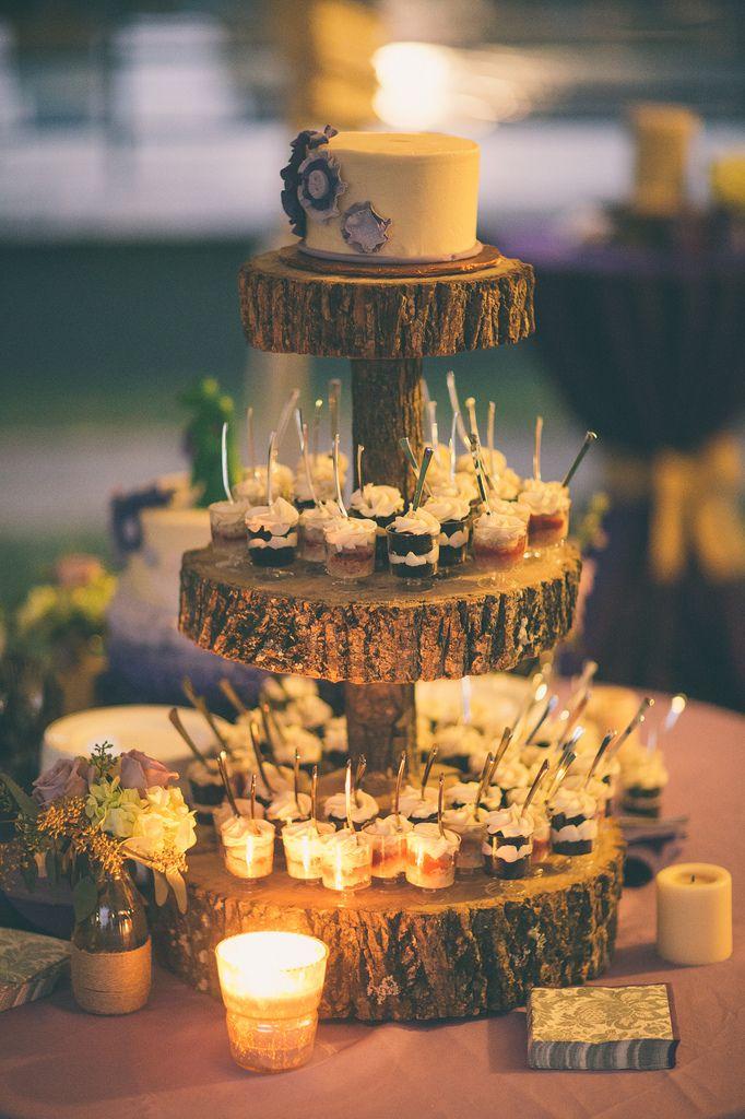 Lisa Mike S Literature Inspired Family Focused Wedding Redo Dessert Cupsdessert Ideascake