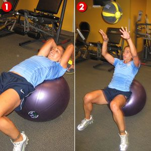 Medicine Ball Throw | Women's Health Magazine
