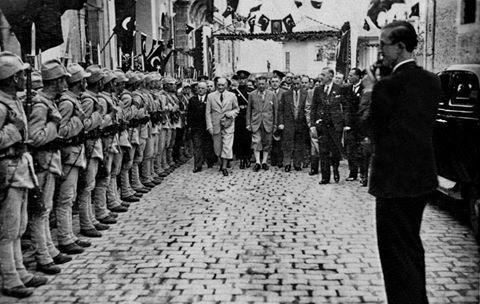 Bir Zamanlar Trabzon'da... Mustafa Kemal Atatürk'ün Trabzon Gezisinden ( 10 Haziran 1937/ Abdullah Sezgin'in arşivinden )