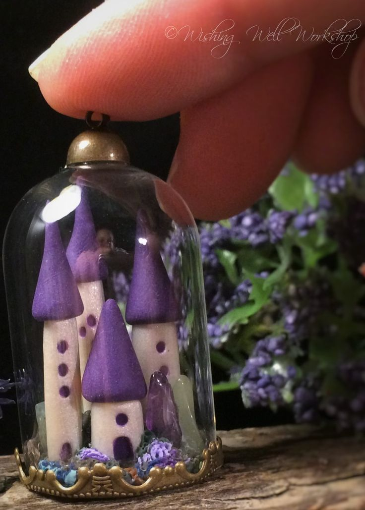 Polymer Clay Miniature Kingdom-Wishing Well Workshop.  For a video of how I made it click here: https://www.youtube.com/watch?v=RRycpyhlT8k