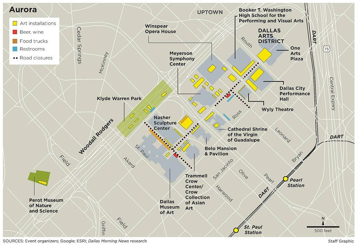 Downtown Dallas Map and Guide Downtown Dallas Map And