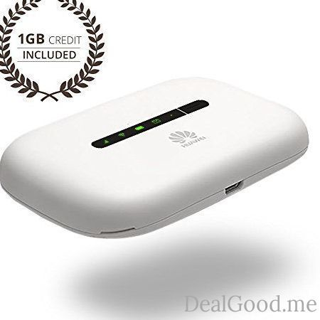Keepgo Global Lifetime Mobile WiFi Hotspot for Europe Asia & the Americas  1GB credit