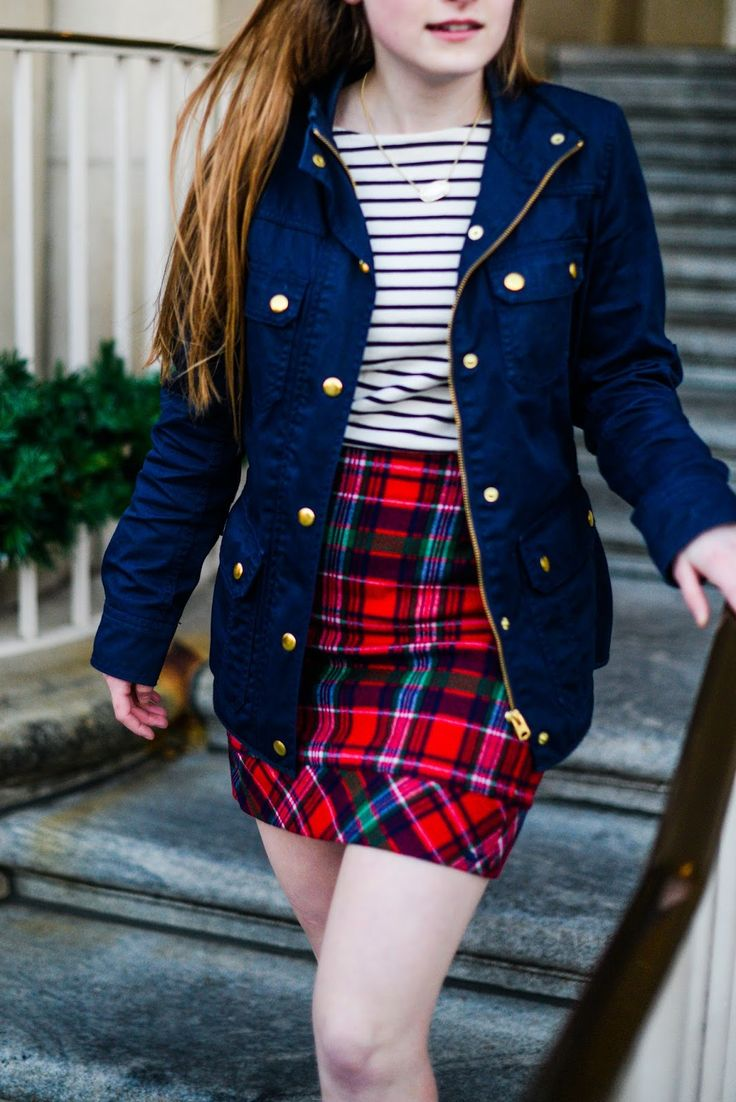 Merry & Bright - preppy christmas outfit from Vineyard Vines and J. Crew