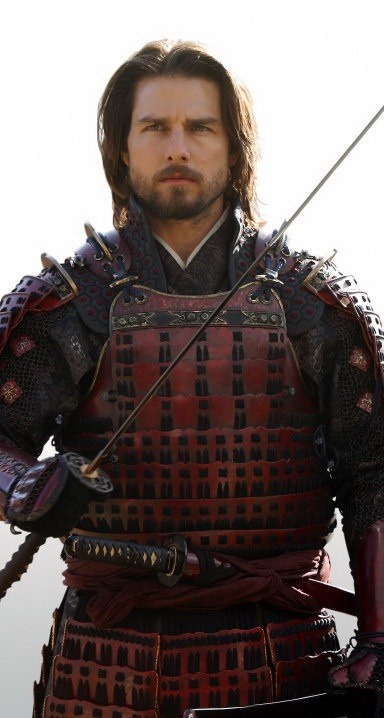Tom Cruise as Nathan Algren in The Last Samurai