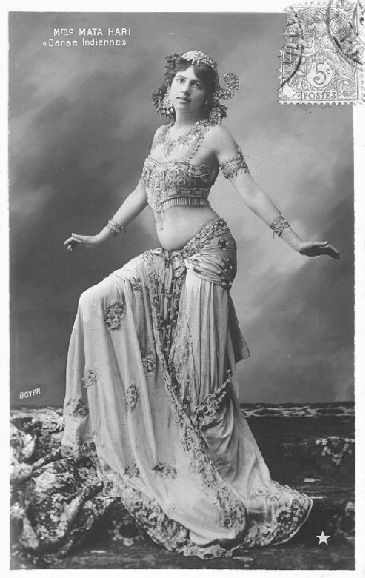 "Mata Hari was the stage name of Margaretha Geertruida ""M'greet"" Zelle (1876-1917), a Dutch exotic dancer, courtesan, and accused spy, who was executed by firing squad in France for espionage for Germany during World War I.  Mata Hari's body was not claimed by any family members and was accordingly used for medical study. Her head was embalmed and kept in the Museum of Anatomy in Paris, but in 2000, archivists discovered that the head had disappeared, possibly as early as 1954, when the…"