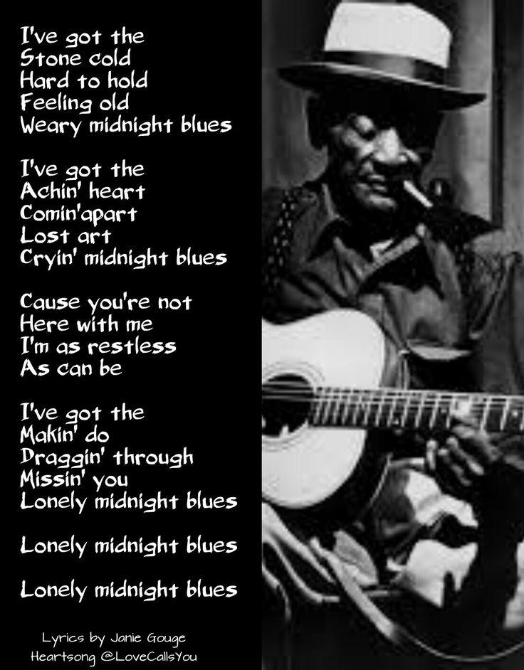 Lyric midnight blues lyrics : Pinterest • The world's catalog of ideas