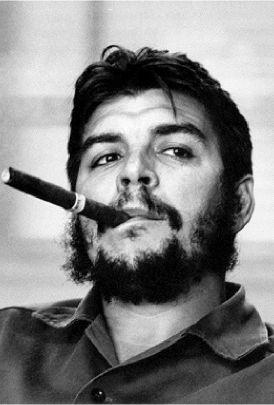 Ernesto Che Guvera, good foto. tainted history.