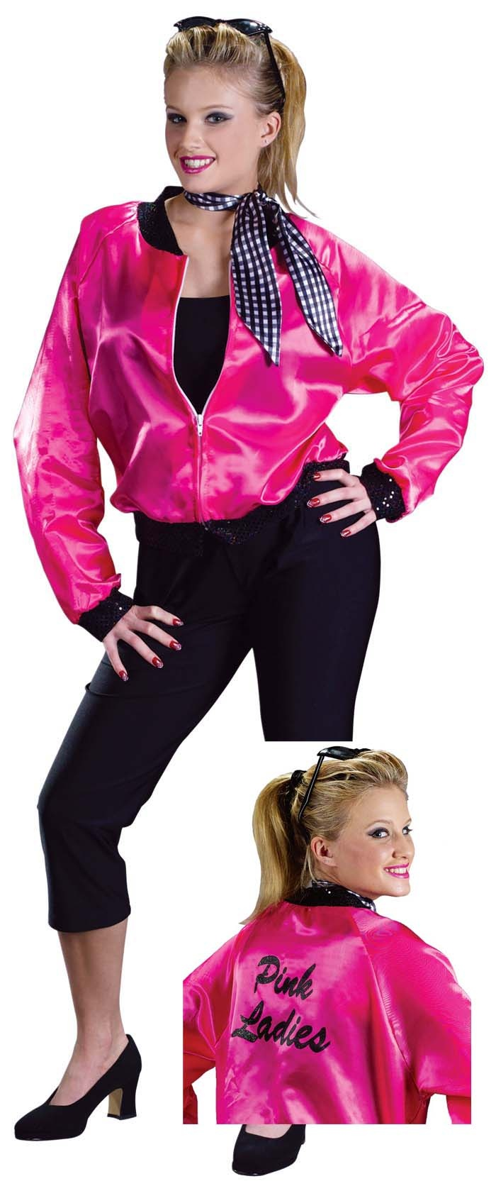 Grease Pink Lady Fancy Dress Costume