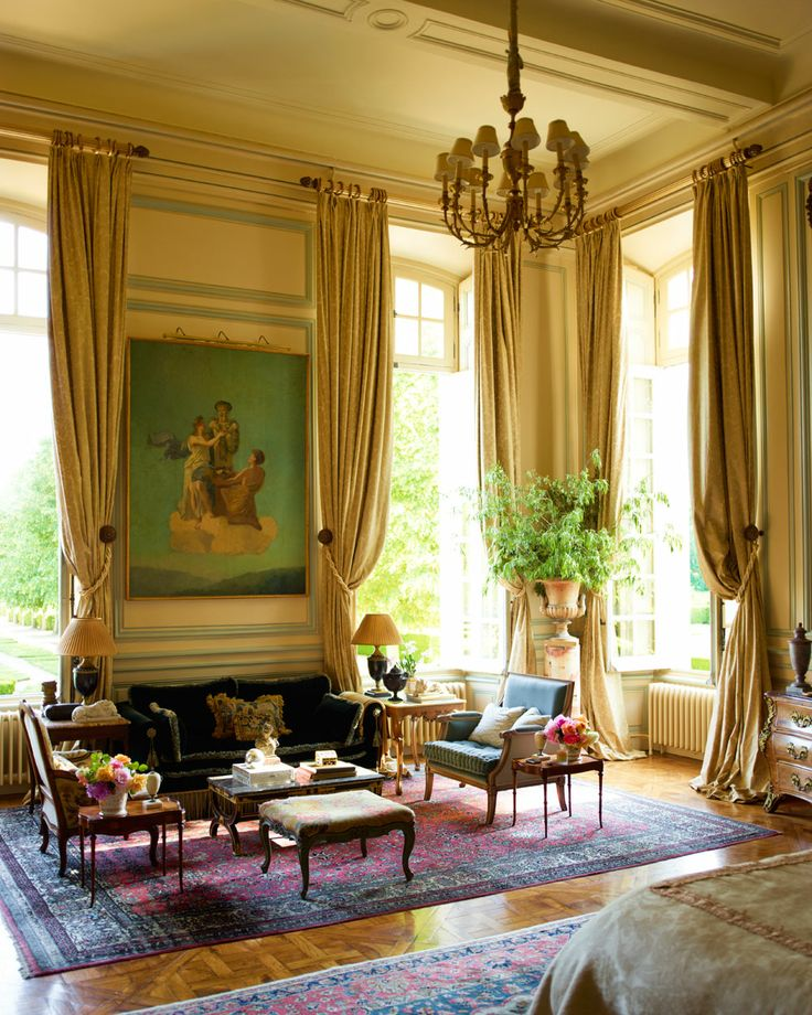 164 best French living images on Pinterest Claude monet, Interiors