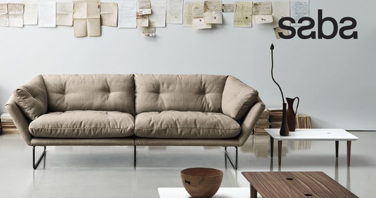 New York Suite by Saba: sofa, lounge chair, pouf | Divano ...