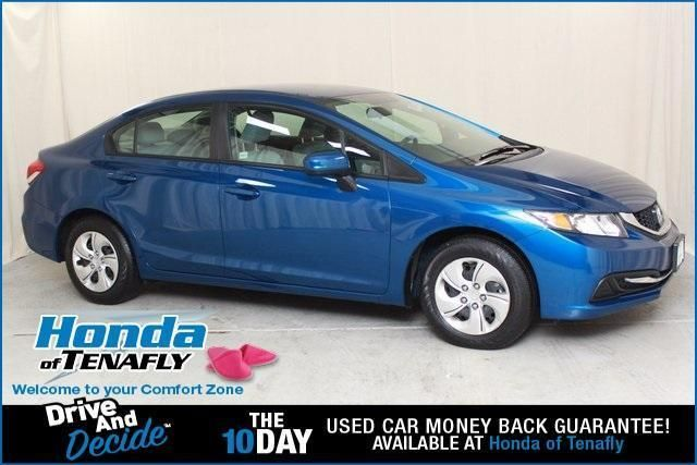 CPO 2015 Honda Civic LX for sale at Honda of Tenafly in Tenafly, NJ for $13,593. View now on Cars.com.