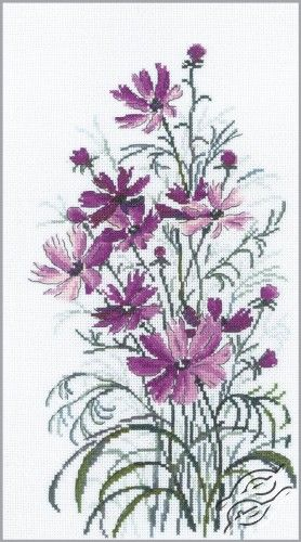 Cosmos - Cross Stitch Kits by RTO - M260