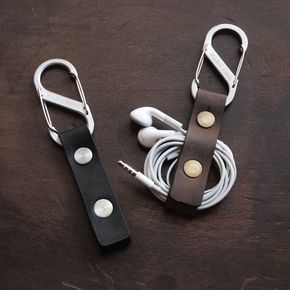 Earbud Holder / Earphone Holder / Cord Holder / USB Cable door Biken