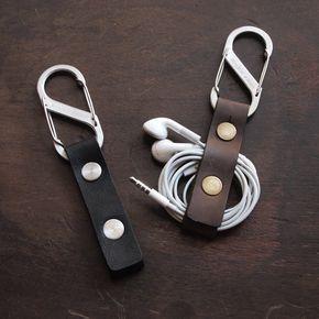 Earbud Holder / Earphone Holder / Cord Holder / USB Cable door Biken