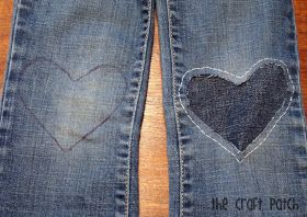 The Craft Patch: A Cute Way to Patch Jeans