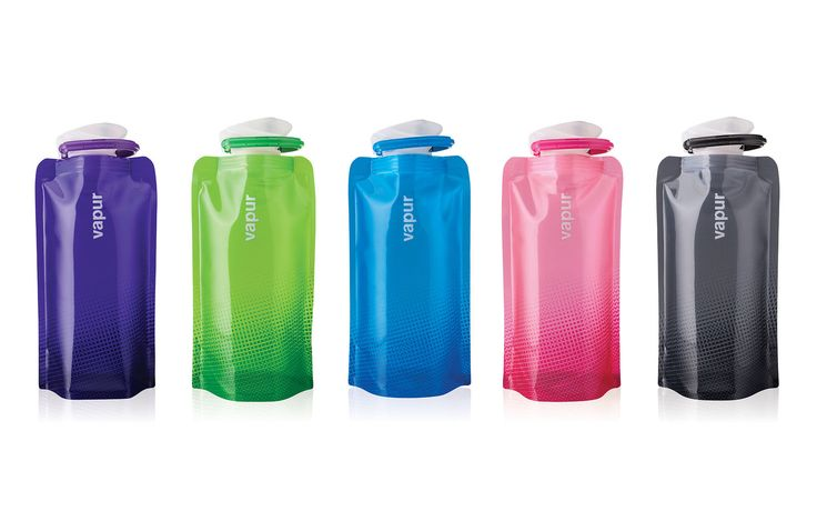 Vapur Shades .5L Collapsible Water Bottle | Be the good friend at this year's gift exchange. Read on.