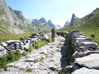 Périples vélo se terminant par un trail - Ma diagonale du flou passe par Iteuil: Préparation et repérages du TGV - Trail du Tour des Glaciers de la Vanoise