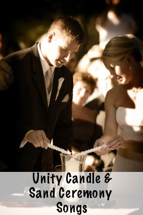 Unity Candle Music and Sand Ceremony Songs