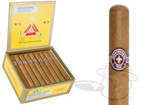 Montecristo #3 5 1/2 x 44—Box of 25 - Best Cigar Prices