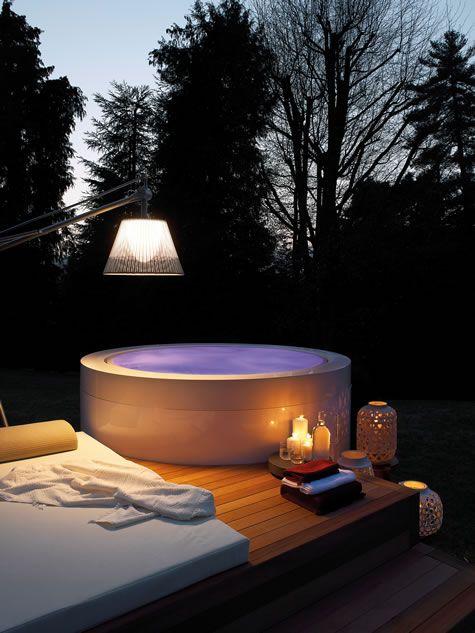Zen mini pool deck exteta landscape design vasche for Zen pool design