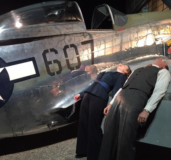 JamesDarcy.net - fan site - James D'Arcy and Hayley Atwell on set of Agent Carter
