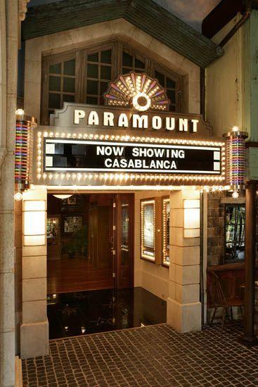 Theo Kalomirakis Paramount Theater Entrance