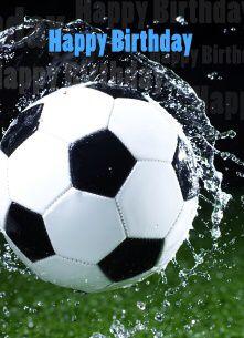 Verjaardag voetballer
