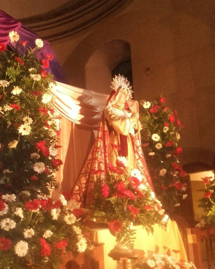 Santísima Virgen de Dolores  Catedral Inmaculada Concepción Huehuetenango  #CucuruchoEnGuatemala