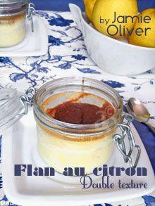 Flan au citron de Jamie Oliver